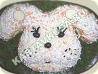 """салат """"заяц 2011"""""""