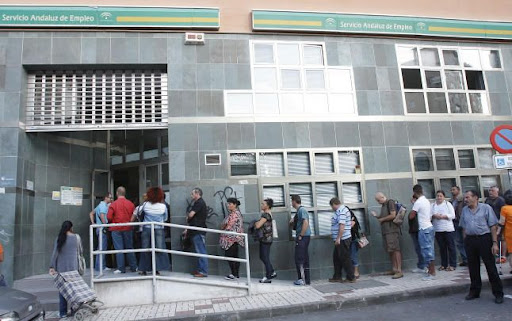 La cifra de parados en andaluc a sube en personas en septiembre un 2 57 m s respecto a - Oficina de empleo andalucia ...