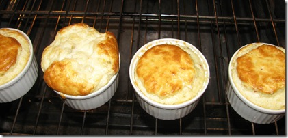 Crab and Artichoke Souffle