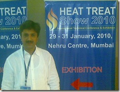 Paresh at Heat Treat Show