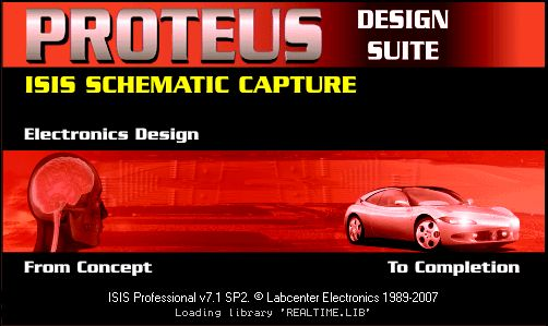 proteus isis ares simülasyon programı