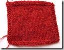 Nostalgi,-strikkeprøve