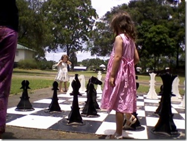 38 giant chess