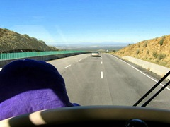 OVER THE TOP IN SAN AUGUSTIN PASS