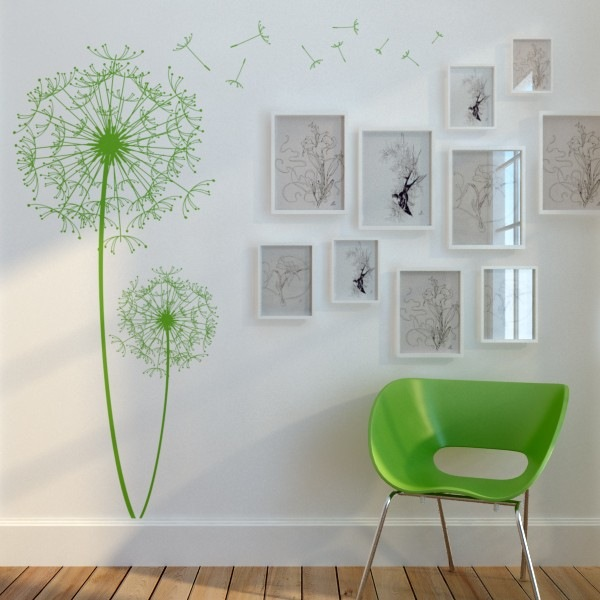 wall decor green