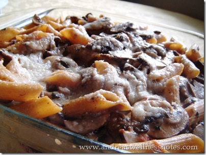 Cheesy Mushroom Pasta 06