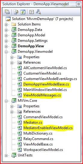 Joymon's world of WPF: MVVM Developing a generic Mediator