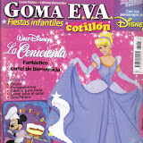 GOMA EVA FIESTAS INFANTILES COTILLON # 01