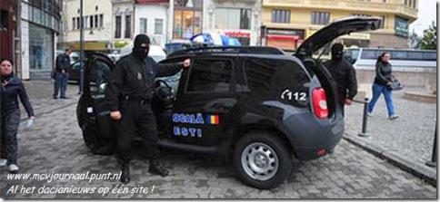 Dacia Duster Politie Boekarest 01