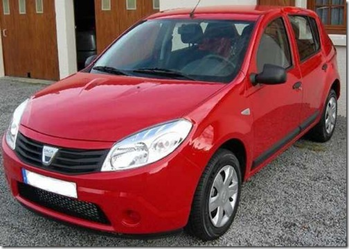 Dacia Sandero Rouge Passion