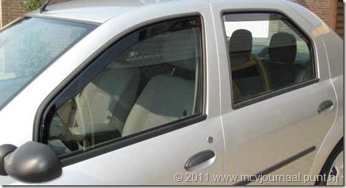 Dacia Logan Sedan windschermen 01