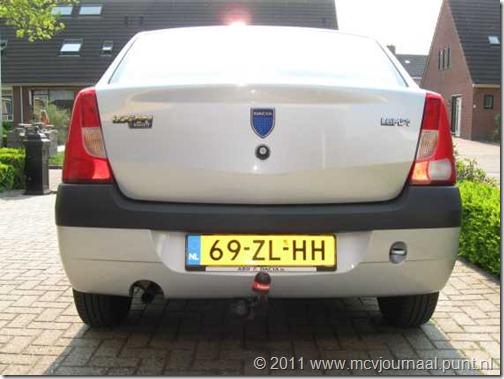 Dacia Logan Sedan trekhaak