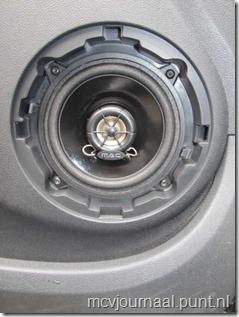 dus vervangen door betere speakers