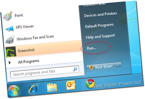 run Windows 7