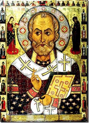 St Nicholas b. 3-15-270 AD - Santa Claus