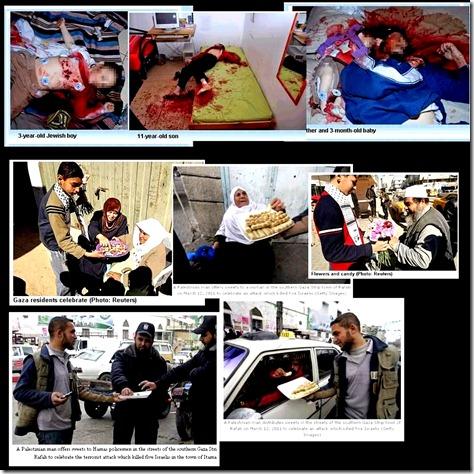 Fogel Kids killed - Gaza Celebrates lg