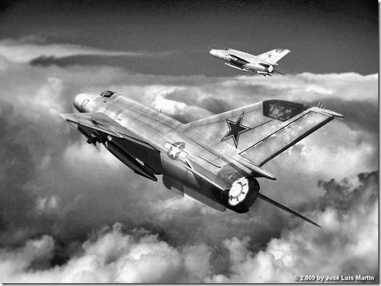 MIKOYAN-GUREVICH MiG-21 A0299