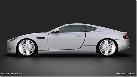 Aston Martin DB9 V12 Vantage XP 2