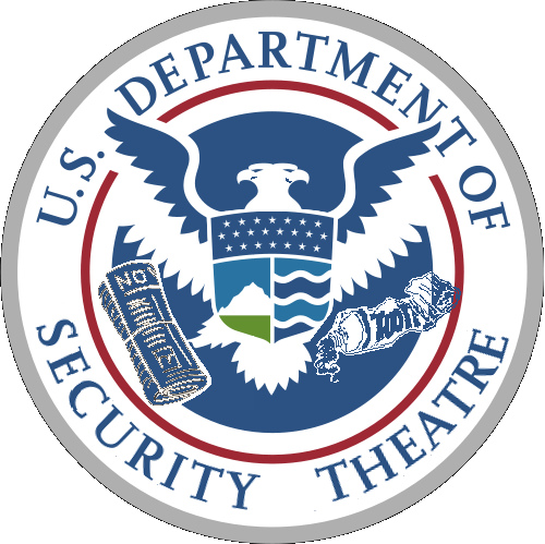 U.S. Department of Security Theater Logo