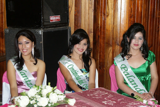 Candidatas a Reinas de la Interculturalidad
