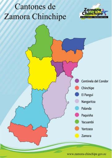 Cantones de Zamora Chinchipe