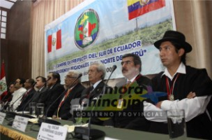 I CUMBRE DE PREFECTOS DEL SUR DEL ECUADOR Y PRESIDENTES REGIONALES DEL NORTE DEL PERÚ