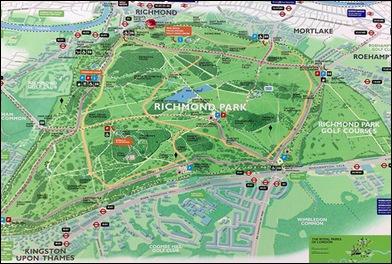 Richmond Park map