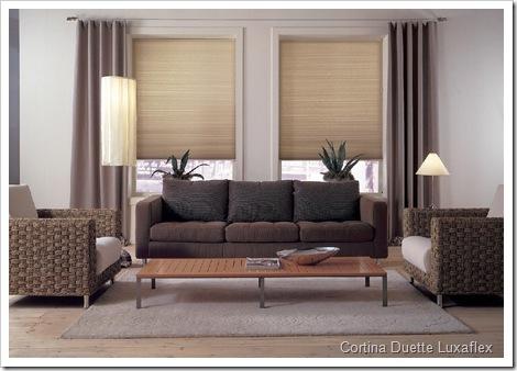 cortinas duette luxaflex