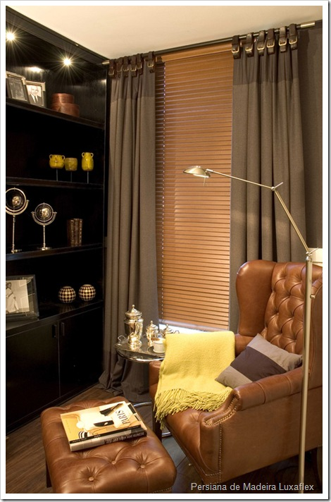 persiana madeira luxaflex