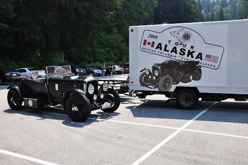 Bentley Alaska Tour 2009