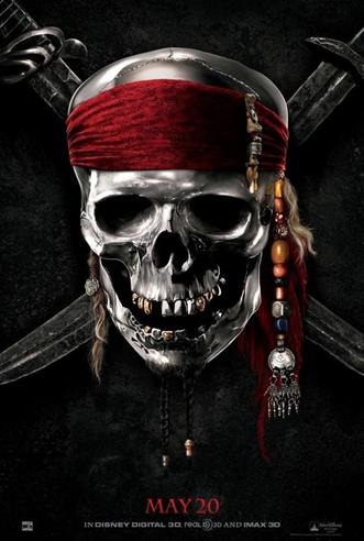 ภาพโปสเตอร์อย่างเป็นทางการของ Pirates of the Caribbean: On Stranger Tides