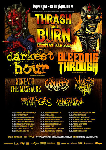 [Thrash and Burn Tour]