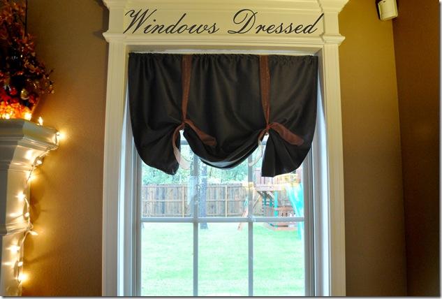 WIndows Dressed