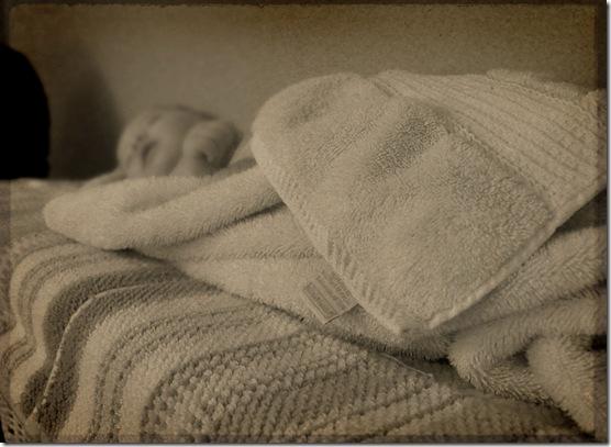 Tessa Towel bw