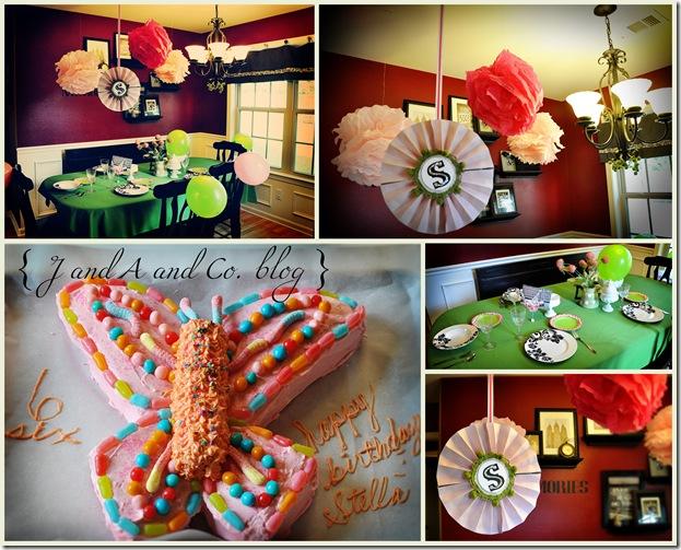 Stella's Birthday collage CR