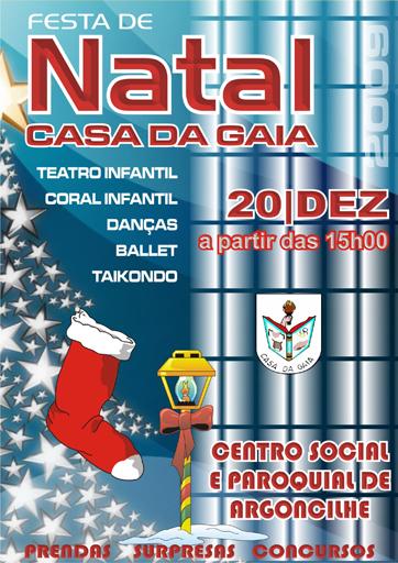 Festa de Natal cdg 2009