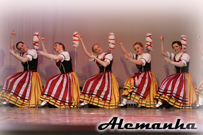 Alemanha - Thuringian Folklore Dance Group