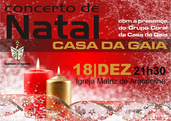 Concerto de Natal 2010 - Casa da Gaia