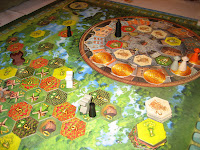 The Seeland Game in progress