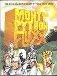 Box artwork from Monty Python Flux courtesy of Boardgamegeek