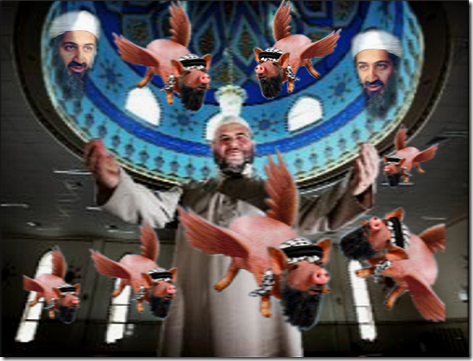 Mosque Flying Pigs