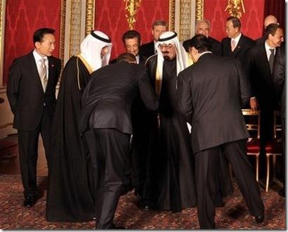 ObamaBowstoSaudiKing