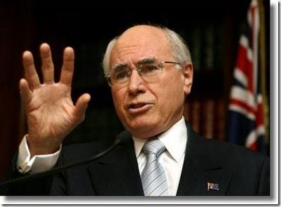John Howard Australia 101507