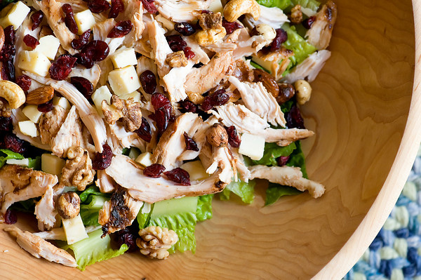 Cranberry Walnut Chicken Salad Recept | Yummly