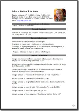 Curriculum vitae european model download photo 1