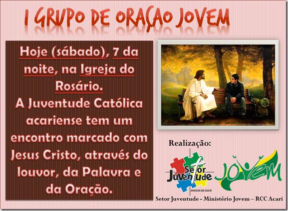 I GRUPO DE ORAÇÃO JOVEM