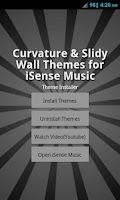 Screenshot of Theme Pack 2 - iSense Music