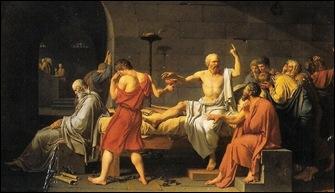 morte de Sócrates de David