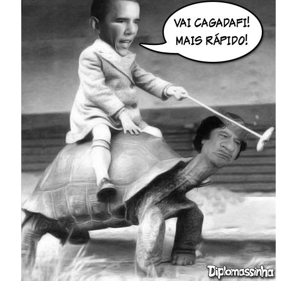 Cagadafi-obama
