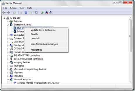 disable-laptop-bluetooth - Windows 7